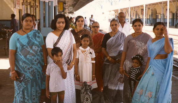 India With Relatives